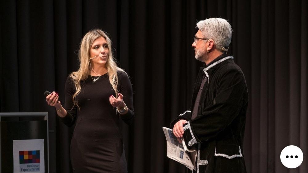 Josef Rankl und Miriam Nagler mit einem Vortrag zum Thema Digitalisierung & Selbstmanagement