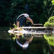 Yoga & Bewegung als Ausgleich zum stressigen Alltag.